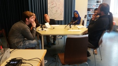 V.l.n.r.: Emo, Minie, Alex a.k.a Volker Naima und Peter